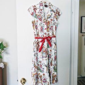Folter Dia de Los Muertos dress size medium